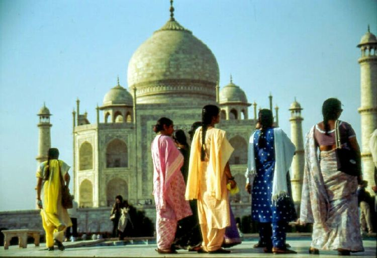 Incredible India Mytajmemory Colors Traditional Costume