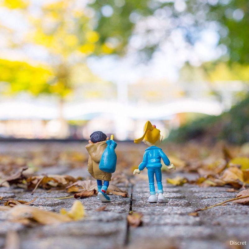 J'aime faire craquer les feuilles mortes sous mes pieds ... Gastonlagaffe Autumn Secotine