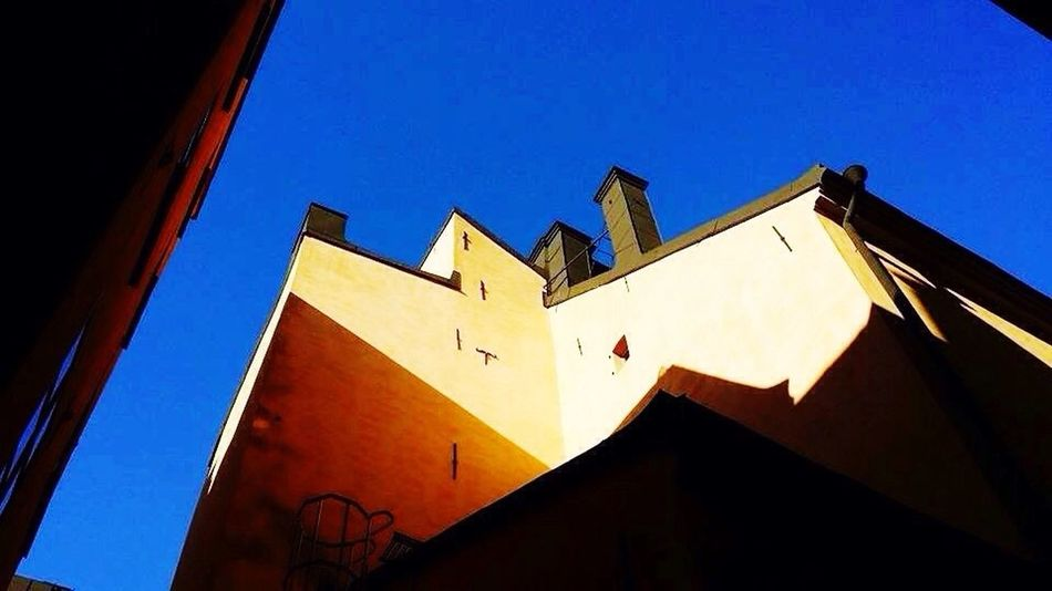 Low Angle View Building Exterior Built Structure Architecture No People Clear Sky Outdoors Text Day City Sky Horizontal