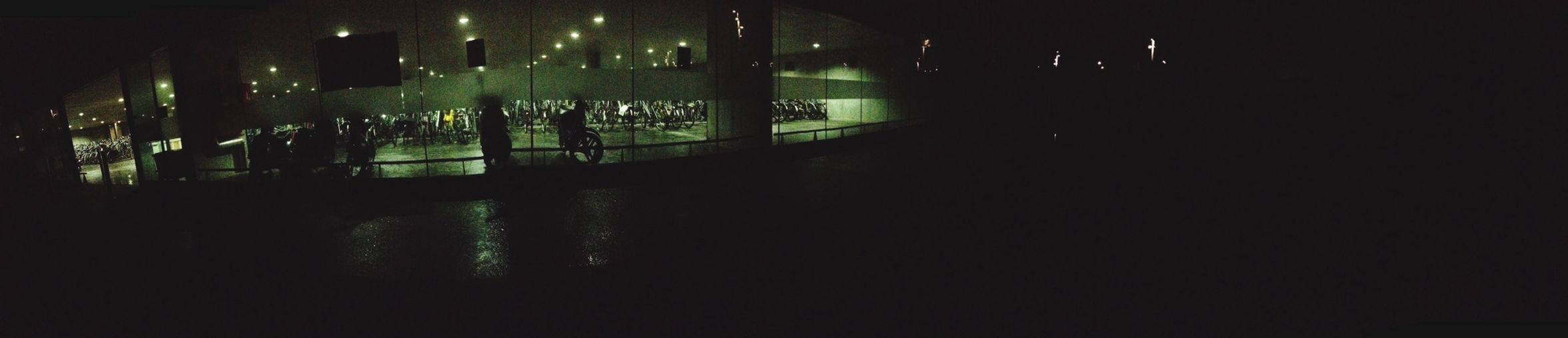 Late night talks with my friend Bruges Night Dark Bikes Friend