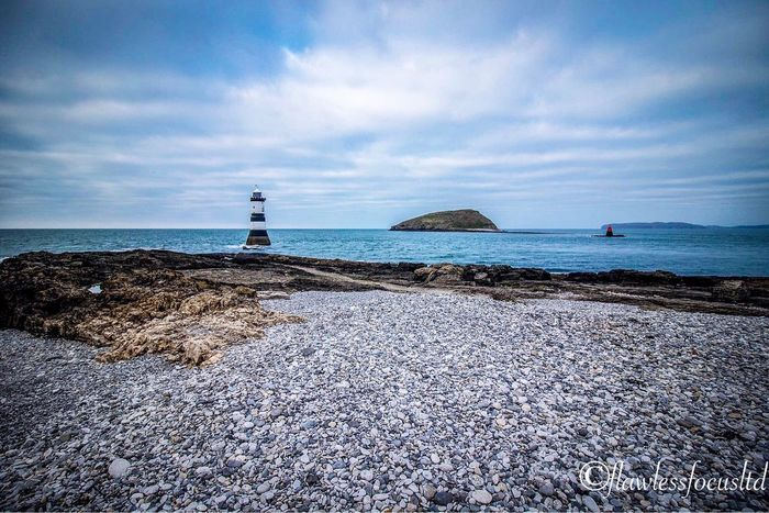 Lighthouse Sea Water Nature Rock - Object Beauty In Nature Scenics Beach Tranquil Scene Outdoors Built Structure No People Wales Penmon Anglesey Coast UK 🇬🇧 Landscape_Collection Landscape Landscape_photography Landscapes Beauty In Nature Art Sea And Sky Guidance