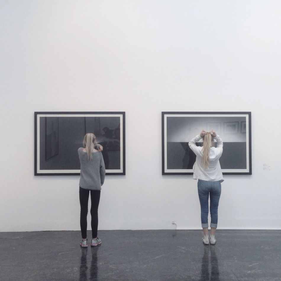 Norway Art Black And White Enjoying Life