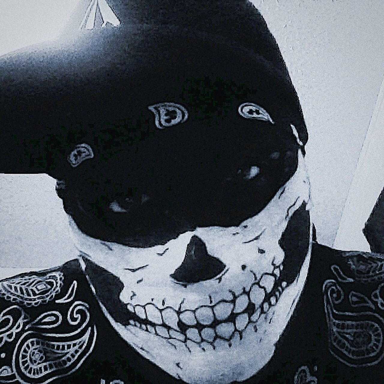 Back from the grave. Day Of The Dead Gangsters Paradise Undead Haunting Eyes No People First Eyeem Photo