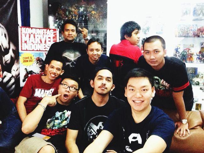Komunitas Marvel Indonesia Hanging Out Fanboy I ❤ Marvel Comics