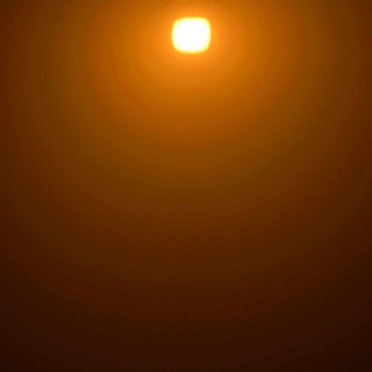 sun, no people, sunset, scenics, moon, nature, beauty in nature, yellow, illuminated, outdoors, sky, astronomy