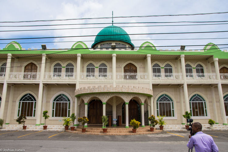 Muslimwedding Architecture Building Exterior Built Structure Travel Destinations Dome Trinidad And Tobago Stillife Caribbean Beautiful
