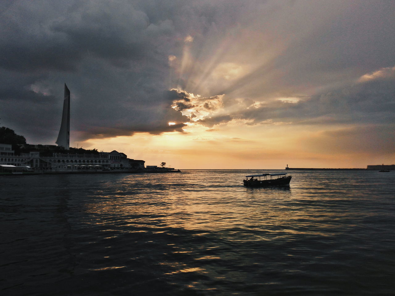 My city 💙 Севастополь Sevastopol' Sevastopol  Russia Cremea Sunset Cloud - Sky Nautical Vessel Sea Sky Water No People Sailboat Outdoors Dramatic Sky Huawei Honor6 Huawei Honor 6 Landscape Beauty In Nature Horizon Over Water Nature Romantic Sunset Romantic Scenery Tranquil Scene