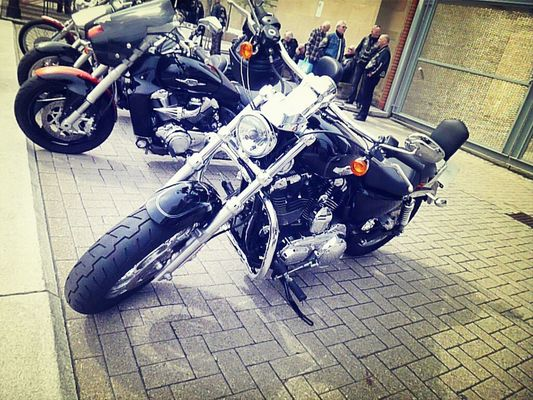 motorcycles in Newcastle upon Tyne by mandy
