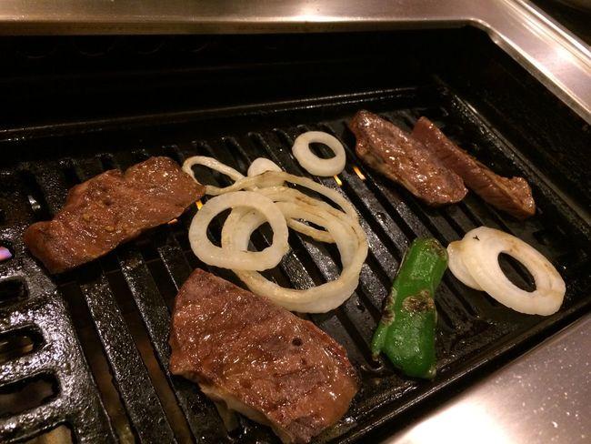 ヤキニクパ〜リ〜〜😆😋😁💨💕💕🍴🍖 Grilled Meat Nofilter Nofilter#noedit
