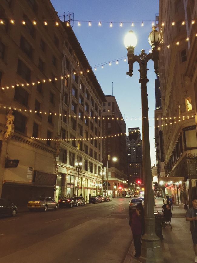 Downtown Nightphotography Los Angeles, California Walking Around Quiet Moments