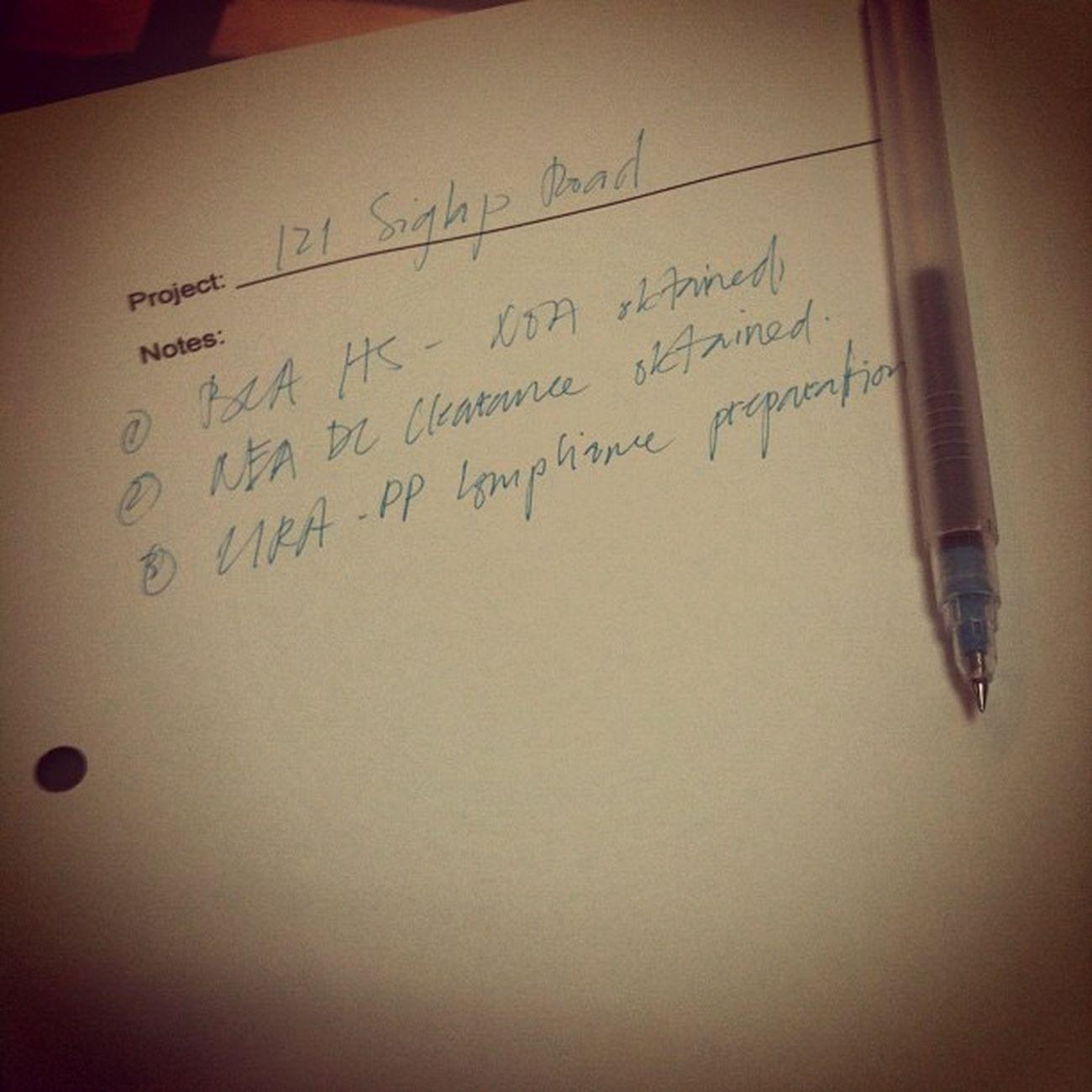 "Ang ""tamad"" kong handwriting."