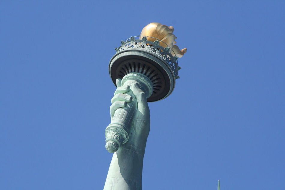 Beautiful stock photos of statue of liberty, Clear Sky, Copy Space, Day, Design