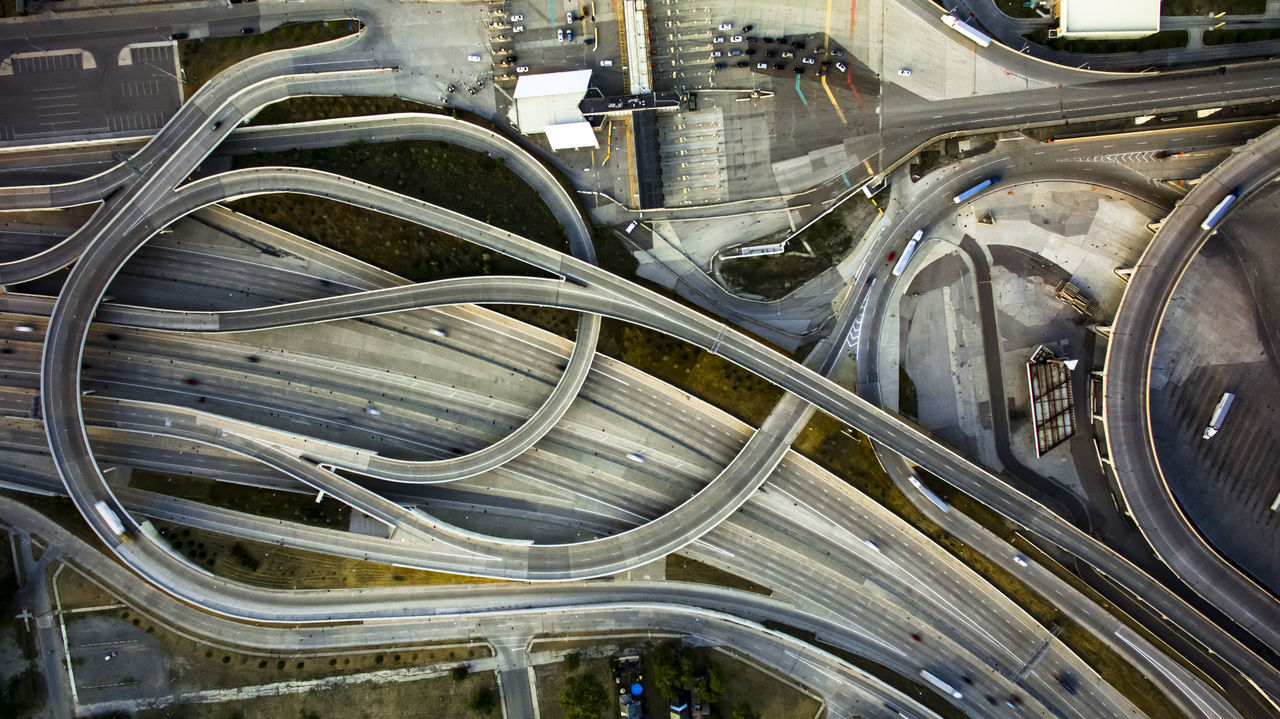 Beautiful stock photos of detroit, Aerial View, Bridge - Man Made Structure, Detroit, United States