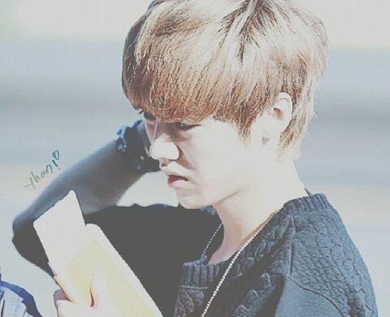我想你。 鹿晗 Luhan Luhan♥️ EXO LuLu Love Lovely 我想你