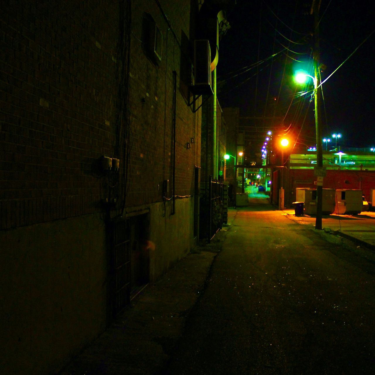 Town Photography Picture Urban Edit Night Lights Night Cool Check This Out Alleyway