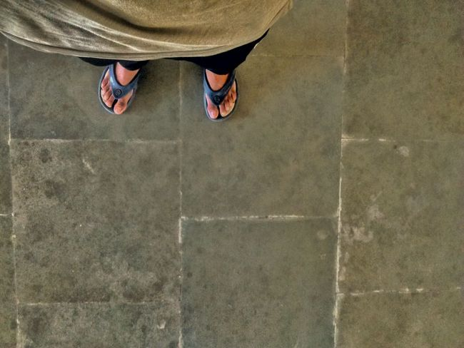 Showcase April Relaxing Enjoying Life Thapar Thaparuniversity_patiala Hostel Feet Texture Floor Floor Tile That's Me No Face First Person View Simplicityeverywhere Showing Imperfection Up Close Street Photography