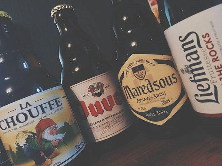 Братишка @ehaev_aleksei привёз очень вкусного бельгийского пива 🍺🍺👍🔥 вкусняшки мерси ✌ Duvel Lachouffe Belgium Bear забугорныесладости 👌 @bomba326 ты своё уже попробовал?
