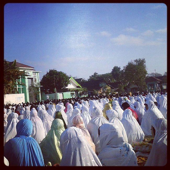 Khotbah shalat ied at Lapangan Pasar Sentolo, Wates, Yogyakarta Eidmubarak Sentolo Yogyakarta Wates