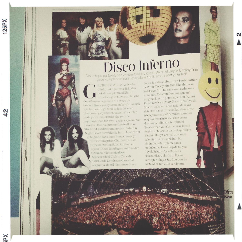 MarieClaire Fashion Magazine Discoinferno
