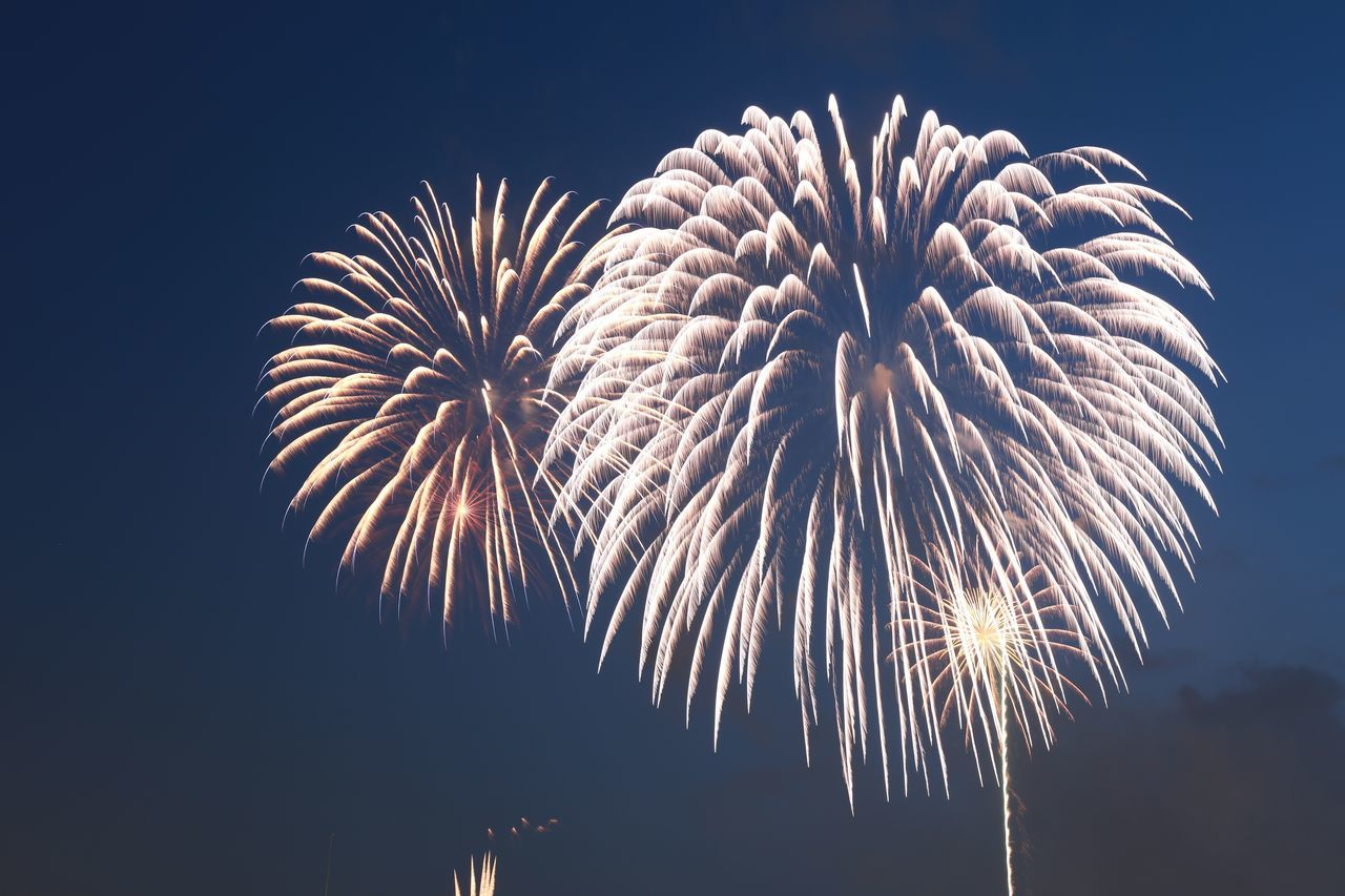 2015  Celebration Event Firework Fireworks Japan Motion Night Sky Spark Summer Tokyo Tokyo Bay 東京湾花火大会 花火