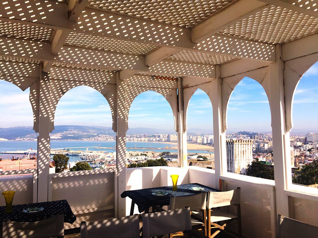Tangier Morocco White Medina OpenEdit Architecture_collection Balcony Balcony View Outstanding From The Rooftop