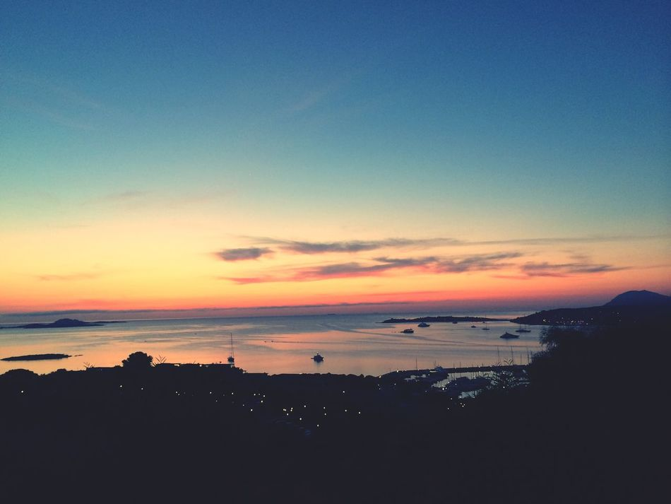 Taking Photos Sunrise Sea Good Morning