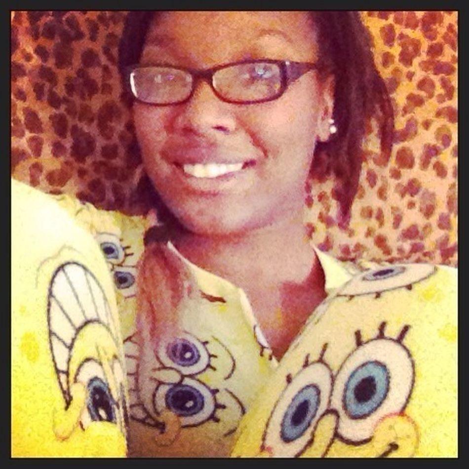 Spongebob #OldPicture Pajamas Footie Pajamas