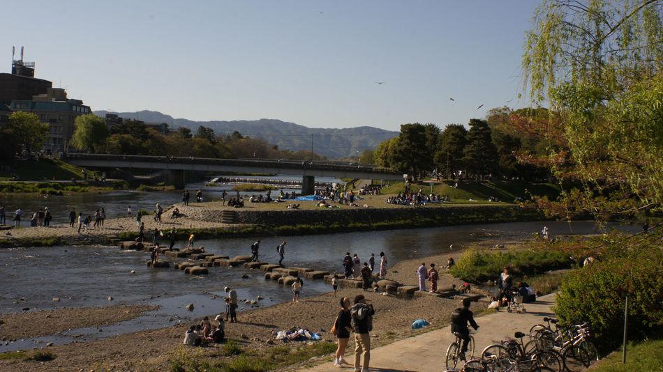 Water People Bird Day Sky Mountain Kyoto Takumar 28mm F3.5 Nex5 City Cityscape