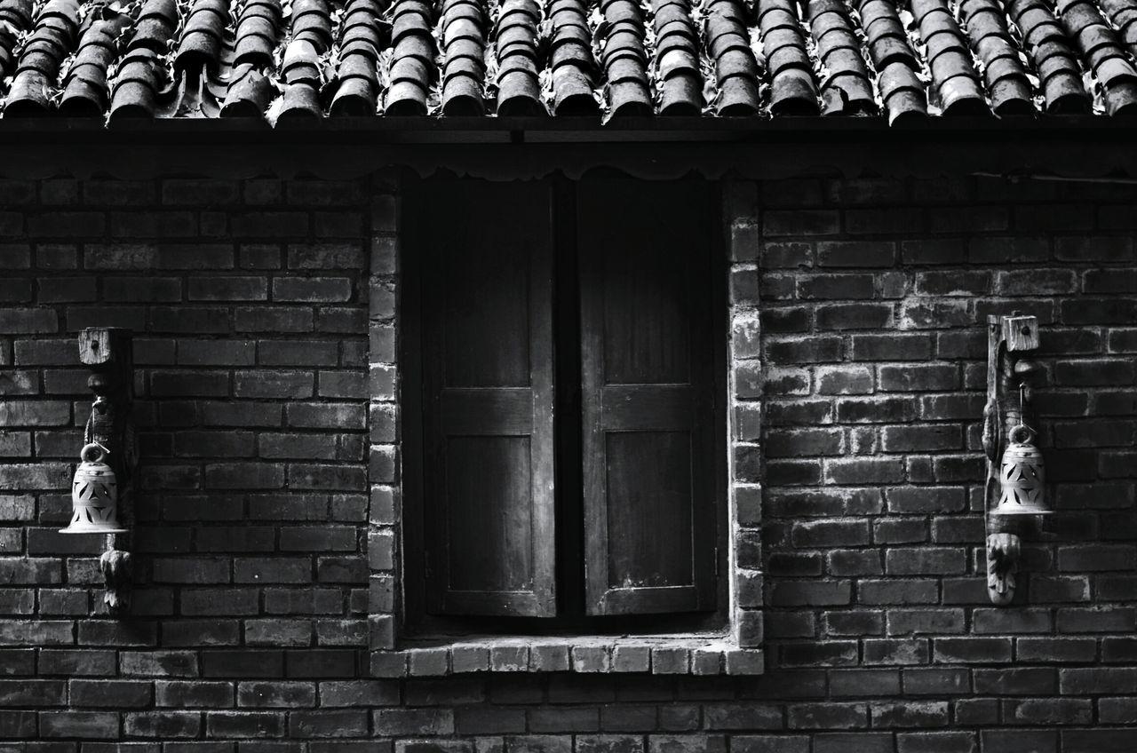 Window On House Wall