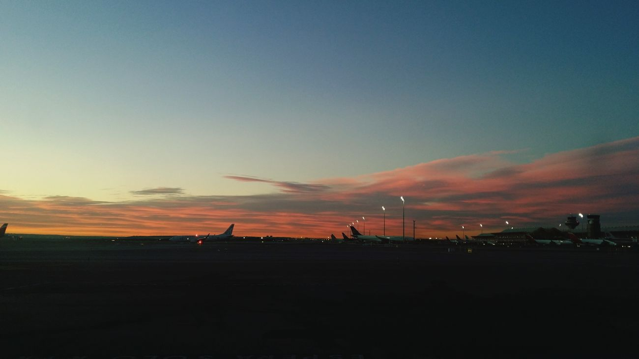 Madrid Barajasairport Dawn Of A New Day First Eyeem Photo