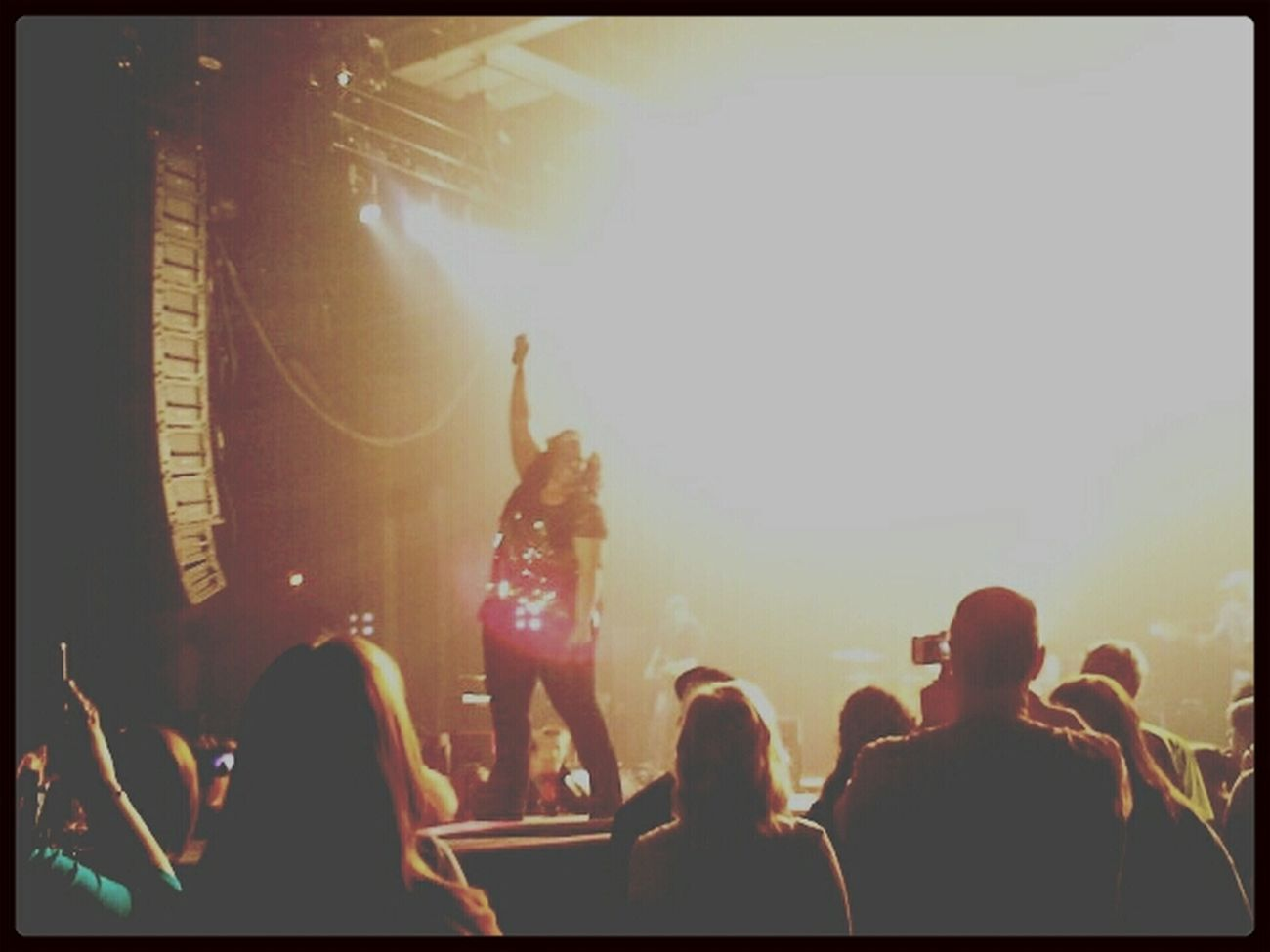 Check This Out Lights Concert Inspiring