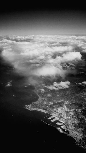 Flying from Menorca to Bilbao, Aerial views. 2015, July 3rd. Menorca Bilbao Aerial Aerial View Aerial Photography Blackandwhite Landscape Flying
