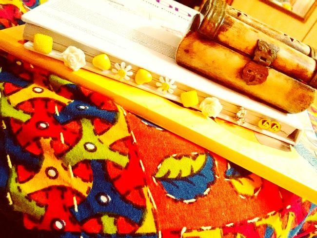 Love old stuff <3 Retro Colours Jewellery Box