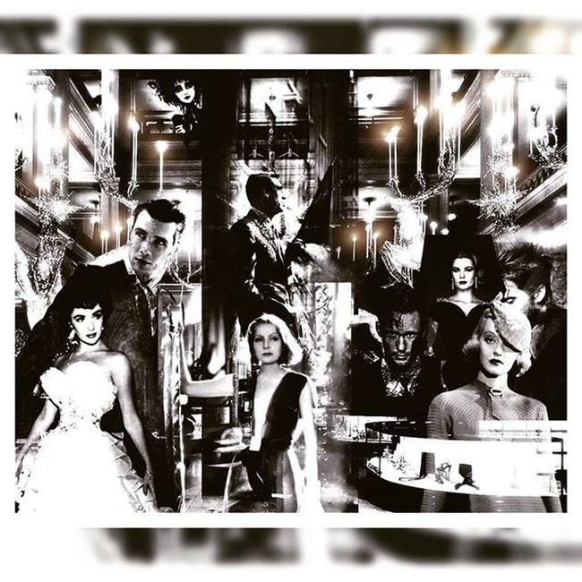 Composites Digitalcomposite Collage Digitalart  Greta Garbo Elizabethtaylor Carygrant Bettedavis Gracekelly Alexanderskarsgård