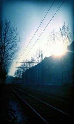 Morning at Tram H Winsstraße by smoothandfresh