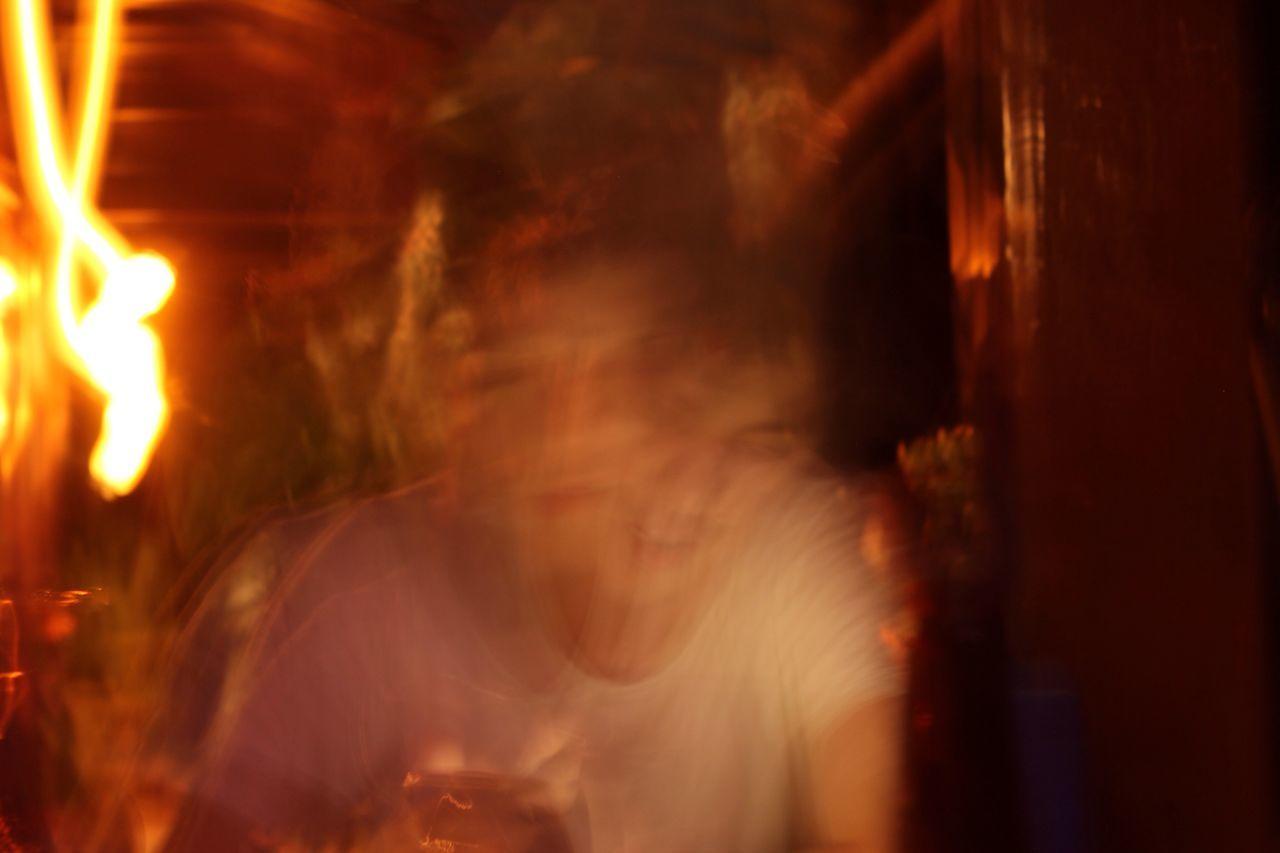 focus on sanity. Motion Blurred Motion Real People Long Exposure People Indoors
