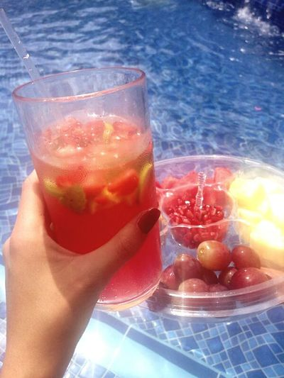 Cocktail Drink Close-up Day Outdoors Kuwait ♡ Love ♥ Swimming Summer Memories 🌄 Summer! ♥ Sunset Beach Tannin✌ Friends ❤ Fruits ♡ Refreshing Atmosphere Refreshingdrink