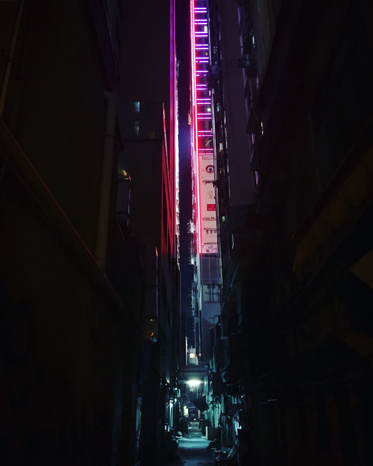 Illuminated Night Transportation Architecture City Outdoors No People Hong Kong Neon Lights Night Lights City Life