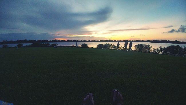 Enjoying the evening... Eveningatdusk EyeEm Lightandshadows Tranquility Aneveningofmusic Endofaday