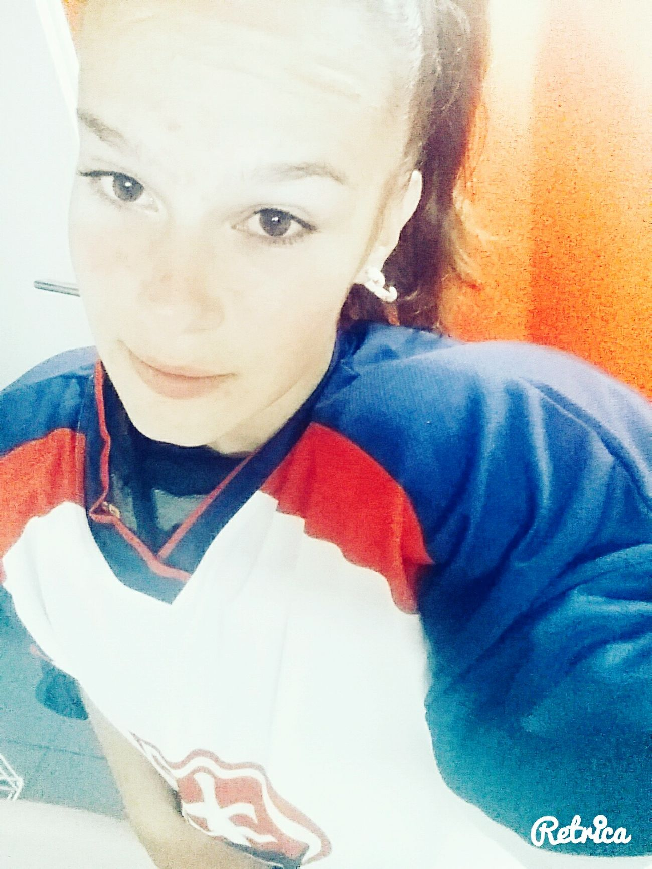 Self Portrait Smile❤ Brown Eyes Sumer&relax Beautiful Day Piece✌ Ice Hockey Color Portrait Hockey Life Hockey Is My Love ✌🙊💕💕