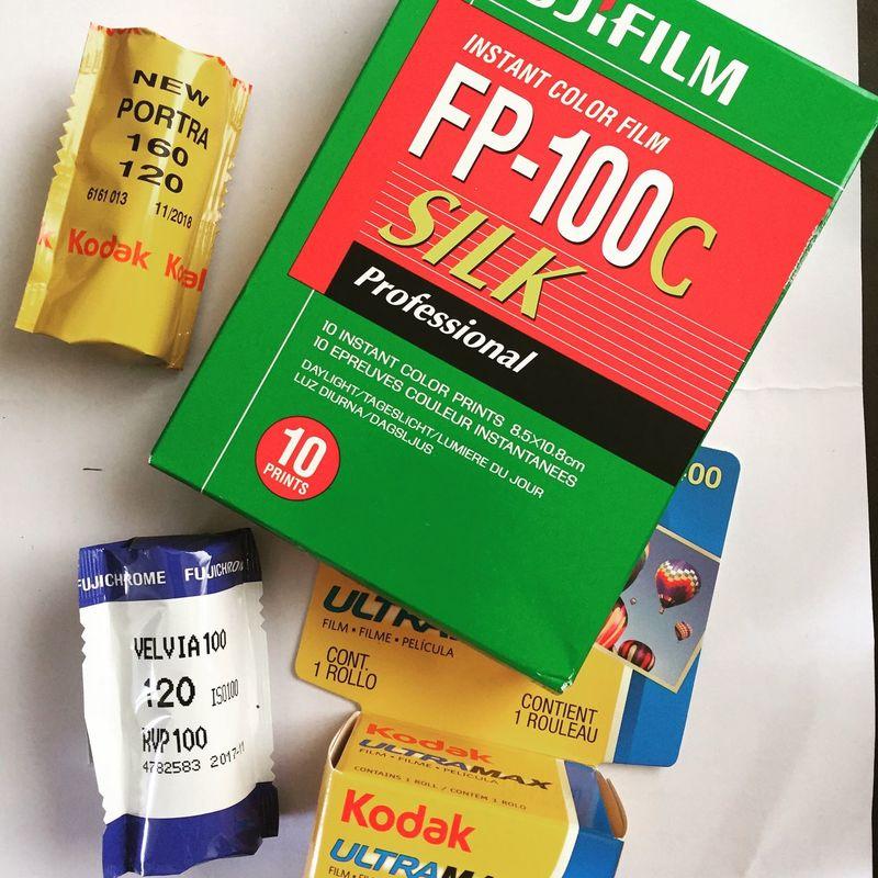 Analogue Photography Fujifilm Fp-100c 35mmfilmphotography Kodak Portra Fujifilm Velvia