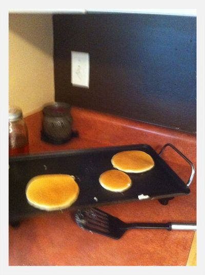 My Pancakes I Made Today