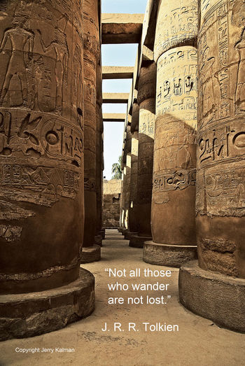 #J.R.R.Tolkien birthday quote and a view of the columns at #KarnakTemple in #LuxorEgypt on the Nile. If this #quotograph resonates with you feel free to #repost for others to enjoy. Antiquity Column Egypt Egyptian K Literary Birthday Luxor Quotes Quotograph Toledo