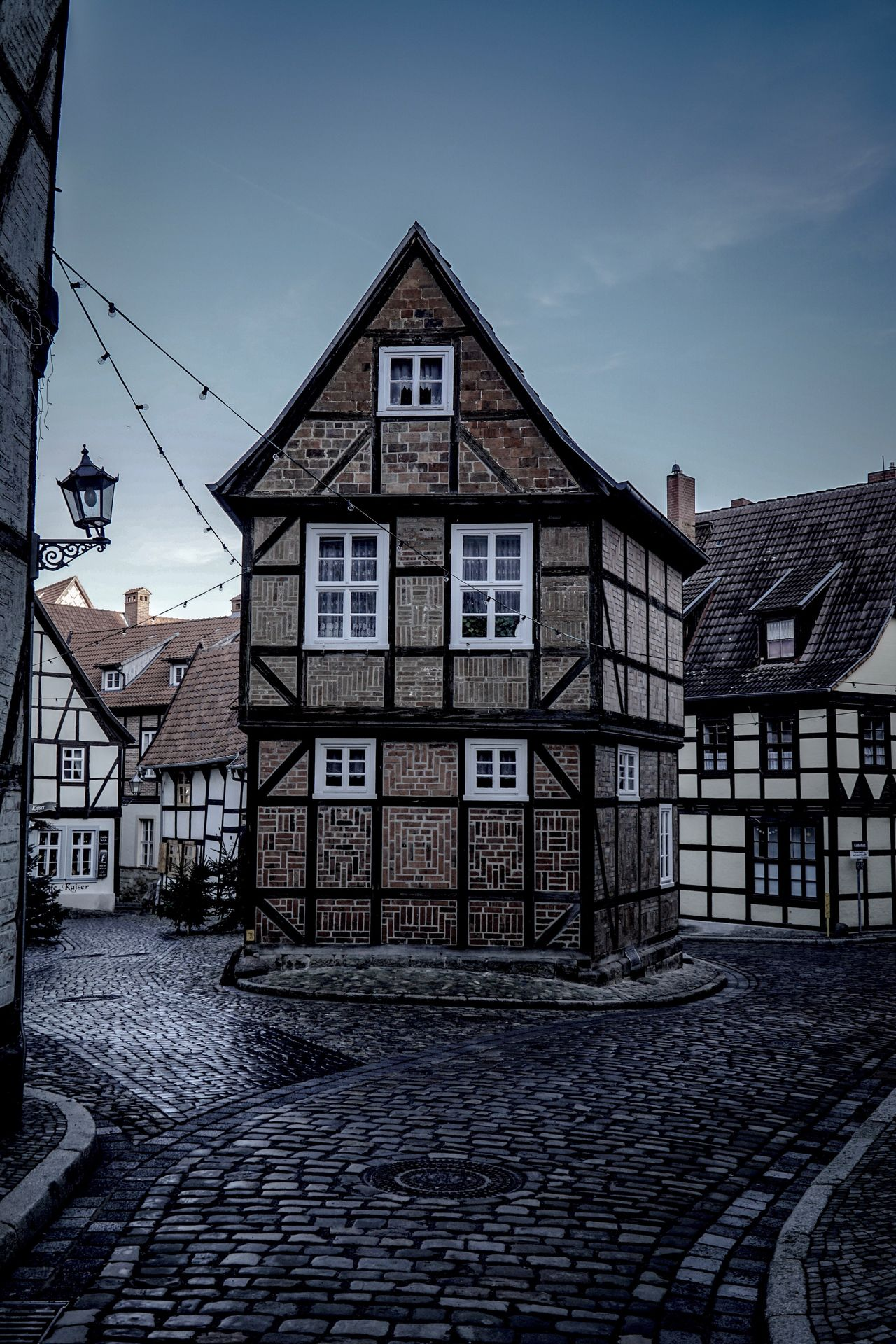 Architecture Building Exterior Architecture Built Structure Sky House Outdoors No People Day Quedlinburg