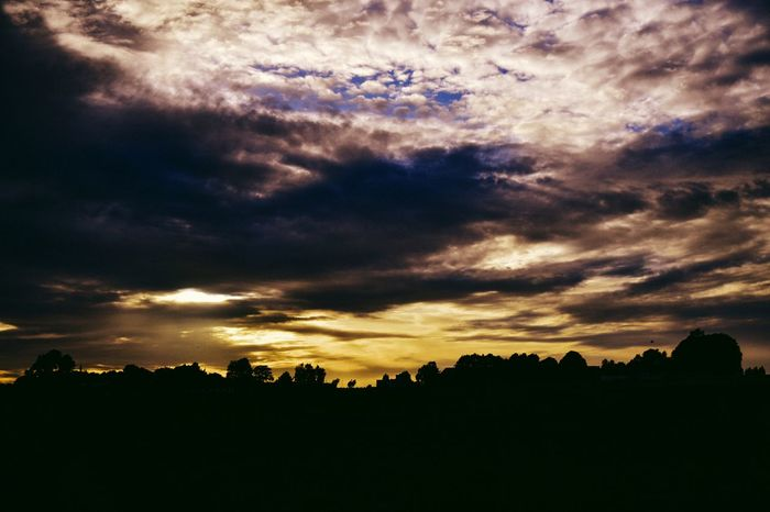 Up in the sky i see... Dramatic Sky Nature Dark Tree Silhouette Sunset Landscape Scenics Beauty In Nature Outdoors Tranquility No People Tree Area Night Sky Astronomy Sunset_collection sunset #sun #clouds #skylovers #sky #nature #beautifulinnature #naturalbeauty photography landscape Sunset And Clouds  The Great Outdoors - 2017 EyeEm Awards