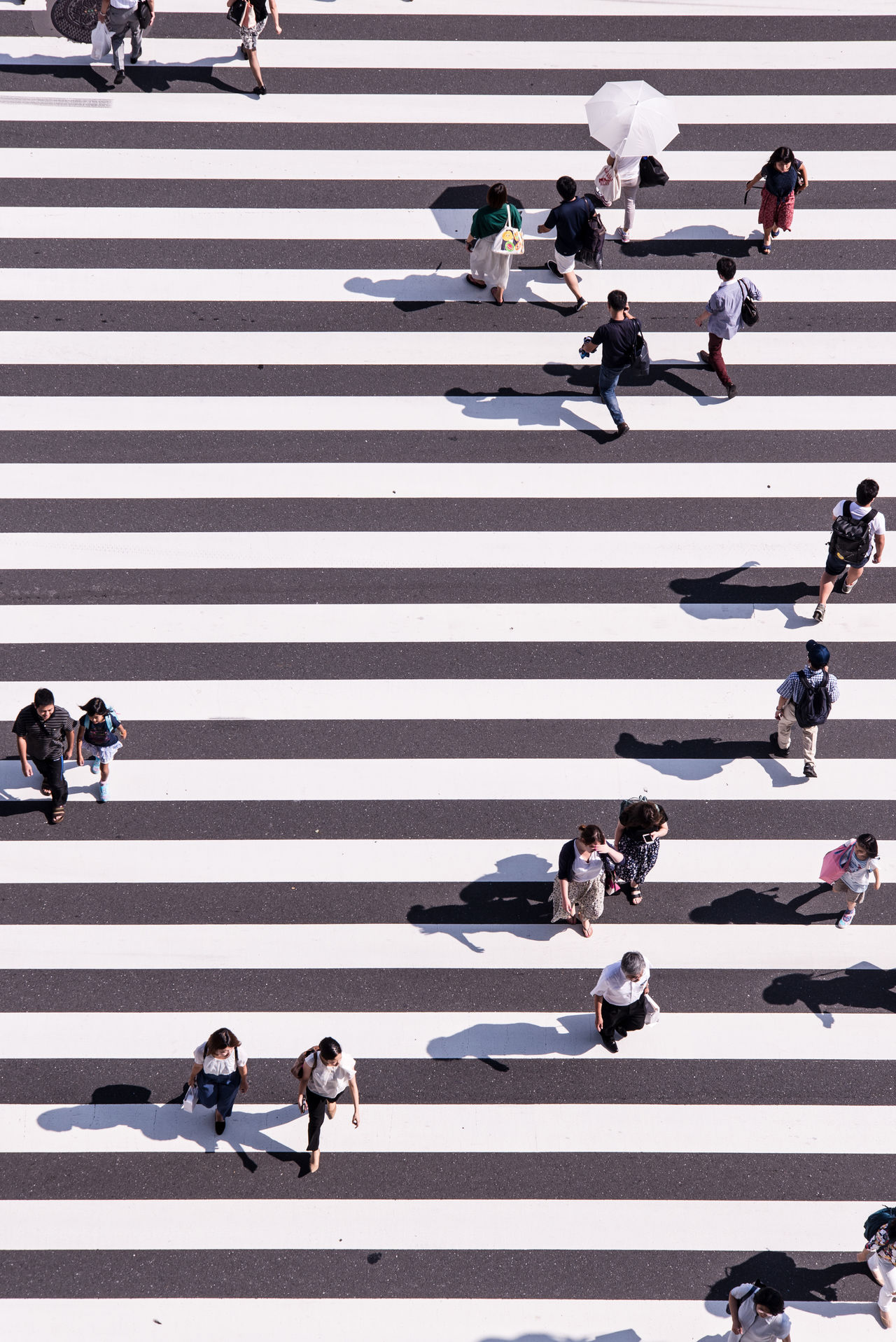 Beautiful stock photos of street photography,  Crosswalk,  Day,  High Angle View,  Japan