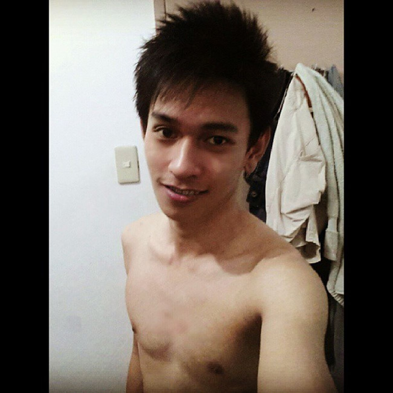 The naked truth after shower! ツ Topless Undressed Naked Instaporn pornstagram camwhore whoreman
