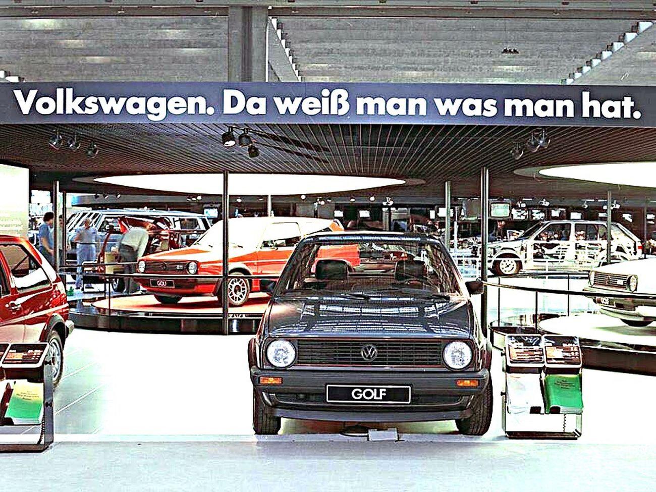 Volkswagen Golf Mk_2 Deutsche Wertarbeit Kult Oldschool First Eyeem Photo