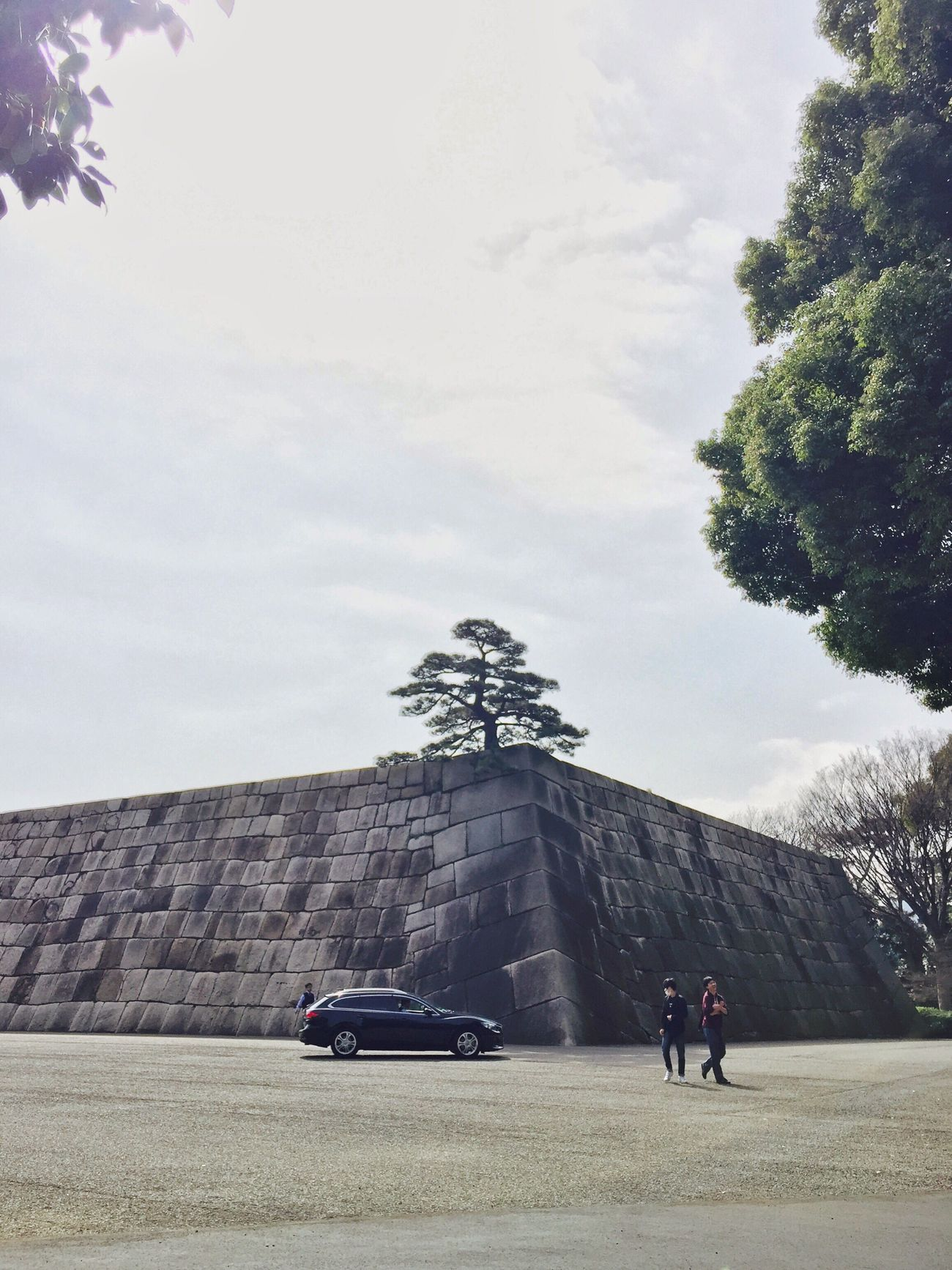 Atenza in Palace/皇居内を走るアテンザ Palace Atenza Mazda Car Castle Hanging Out Enjoying Life Walking Around IPhoneography