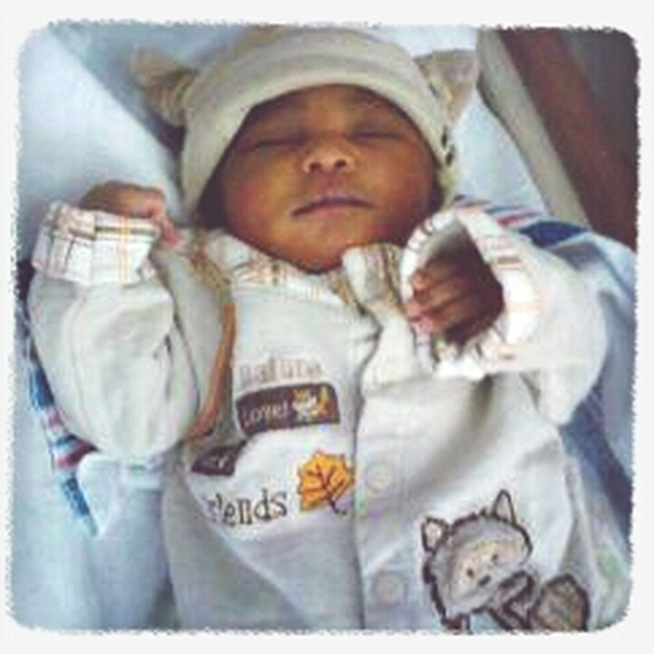 When we first bought my baby brother home